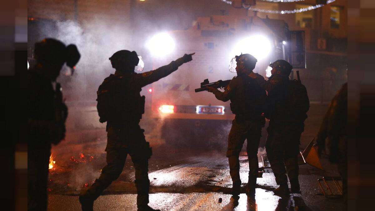 ებრაელი ჯარისკაცები იერუსალიმში