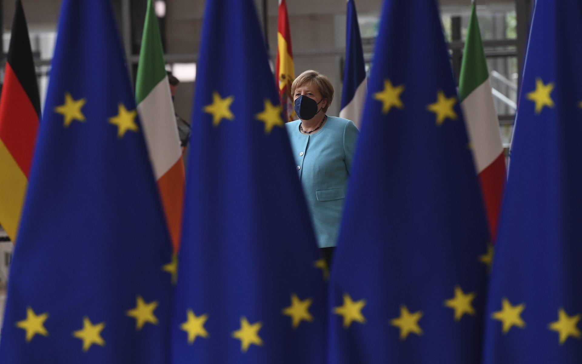 ანგელა მერკელი ევროკავშირის სამიტზე
